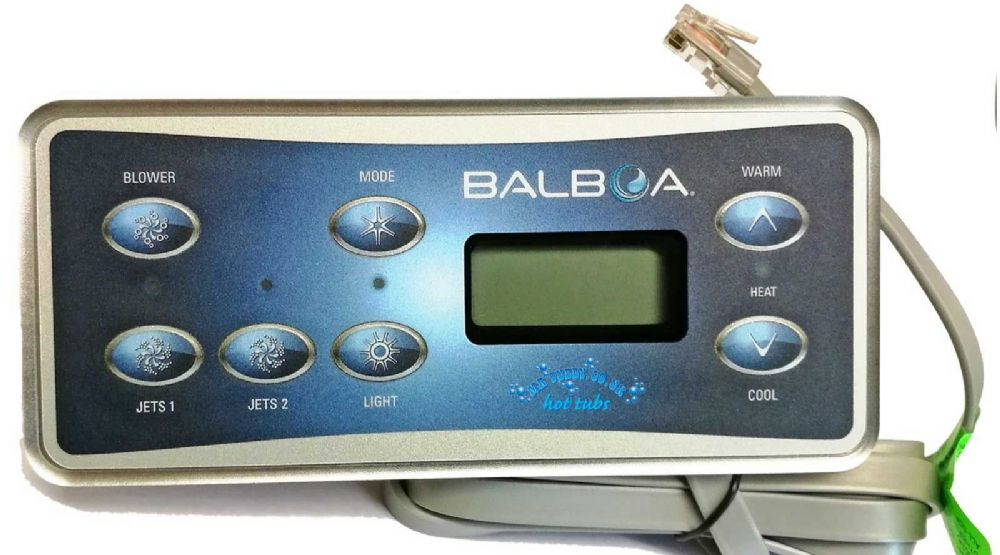 Balboa VL701S Touch Panel 2 pumps with Air